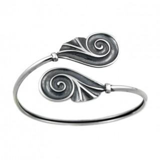 Spiral Shell ~ Sterling Silver Cuff Bracelet