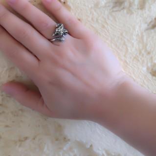 Ram's Head - Sterling Silver Ring