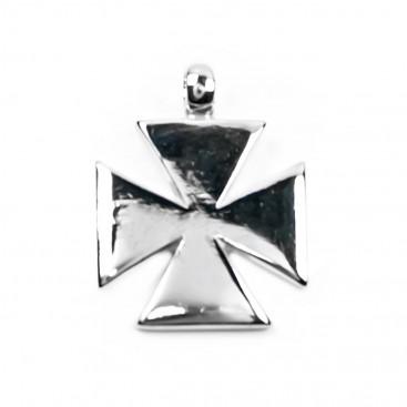 Knights Templar Cross - Pattee Design ~ Sterling Silver Cross Pendant