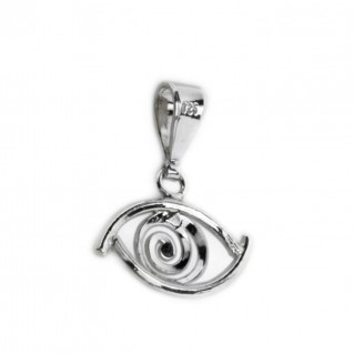 Evil Eye Amulet ~ Sterling Silver Pendant-Charm