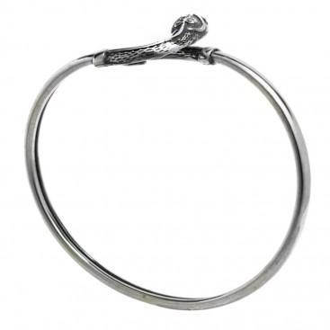 Snake-Serpent ~ Sterling Silver Bracelet