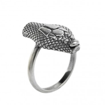 Snake-Serpent ~ Sterling Silver Band Ring