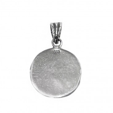 Macedonian Vergina Sun ~ Sterling Silver Pendant