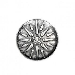 Macedonian Star-Vergina Sun ~ Sterling Silver Ring