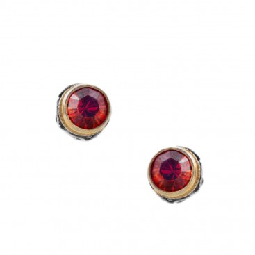 S225 ~ Sterling Silver with Swarovski Small Earrings