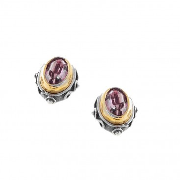 S233 ~ Sterling Silver with Swarovski Stud Earrings