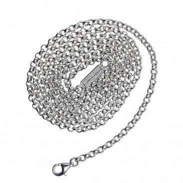 Gerochristo 4012N ~ Sterling Silver Rolo Chain