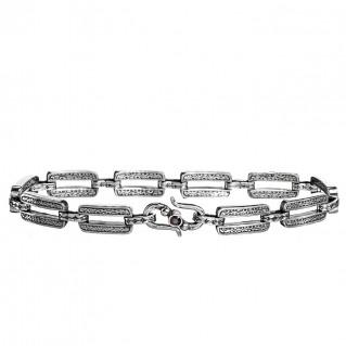 Gerochristo 6229N ~ Sterling Silver Medieval-Byzantine Link Bracelet