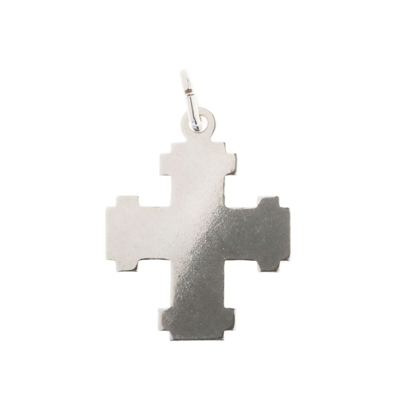 Greek cross 925 sterling silver greek cross pendant culturetaste small cross 925 sterling silver shiny cross pendant aloadofball Gallery