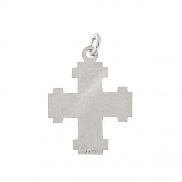 Small Cross ~ 925 Sterling Silver Shiny Cross Pendant