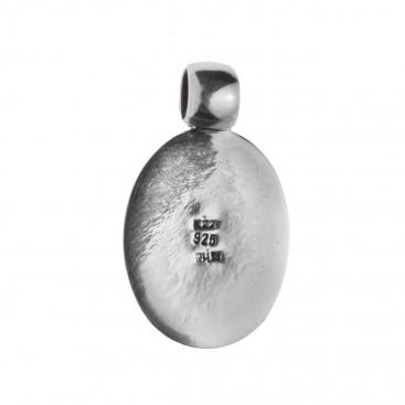 Savati 254 - 22K Solid Gold & Sterling Silver Cameo Pendant