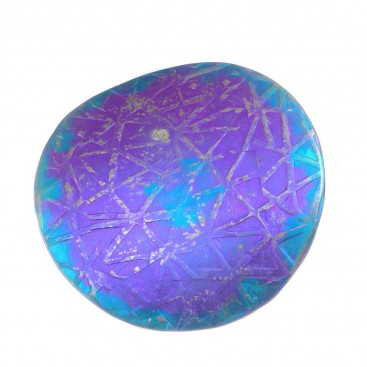 Giampouras 5022 - Anodized Colored Titanium Large Pendant