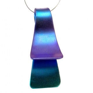 Giampouras 50631 ~ Anodized Colored Titanium Pendant
