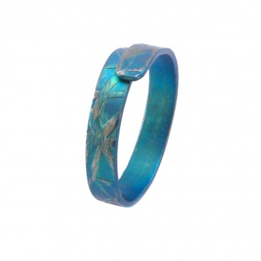 Giampouras 5062 ~ Anodized Colored Titanium Band Ring