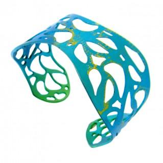 Giampouras 5303 - Anodized Titanium Cuff Lace Bracelet