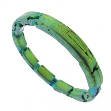 Giampouras 5400 ~ Anodized Colored Titanium Band Ring