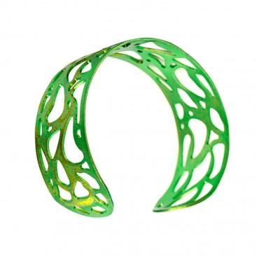 Giampouras 5302 - Anodized Titanium Cuff Lace Bracelet