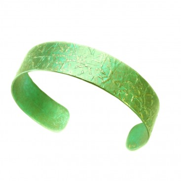 Giampouras 5059 ~ Anodized Colored Titanium Cuff Bracelet