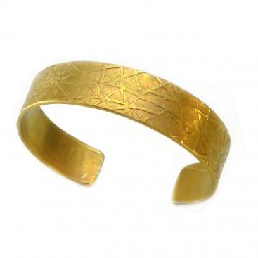 Giampouras 5059 ~ Anodized Colored Titanium Cuff Bracelet
