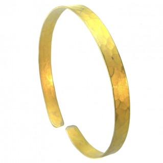 Giampouras 5064 ~ Anodized Colored Titanium Cuff Bracelet