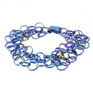 Giampouras 5001 ~ Anodized Colored Titanium Bracelet