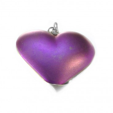 Giampouras 5016 ~ Anodized Colored Titanium Heart Pendant