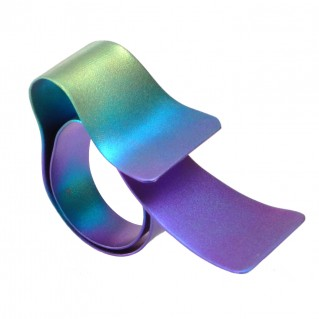 Giampouras 50632 ~ Anodized Colored Titanium Wrap Ring