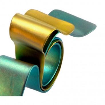 Giampouras 50642 ~ Anodized Colored Titanium Wrap Ring