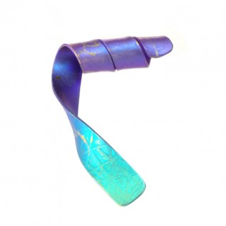 Giampouras 5090 ~ Anodized Colored Titanium Ribbon Pendant