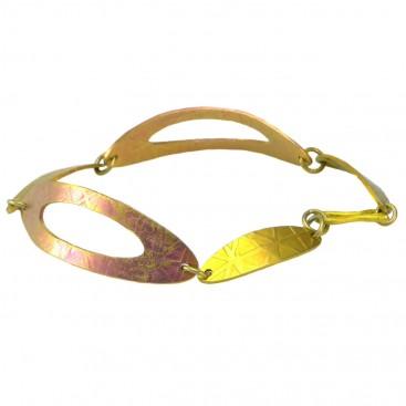 Giampouras 5026 ~ Anodized Colored Titanium Link Bracelet