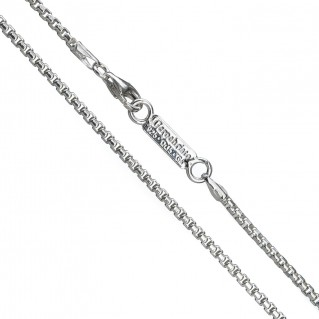 Gerochristo 4083N ~ Sterling Silver Box Chain