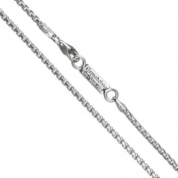 Gerochristo 4083N ~ Sterling Silver Box Chain