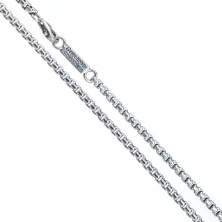 Gerochristo 4011N ~ Sterling Silver Box Chain