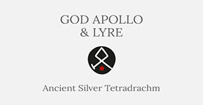 God Apollo and Lyre - Silver Tetradrachm - Short History at CultureTaste