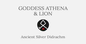Goddess Athena and Lion - Didrachm Ancient Greek Coin - Short History at CultureTaste