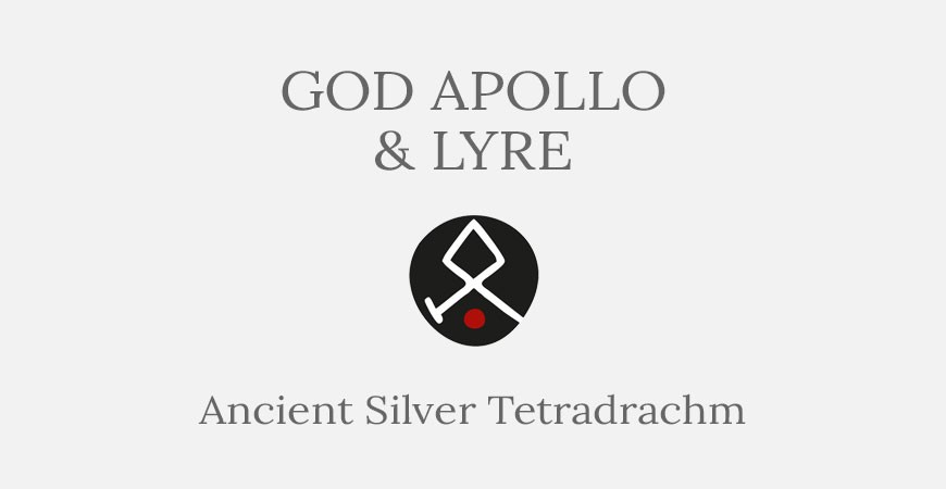 God Apollo & Lyre – Silver tetradrachm coin - Short History