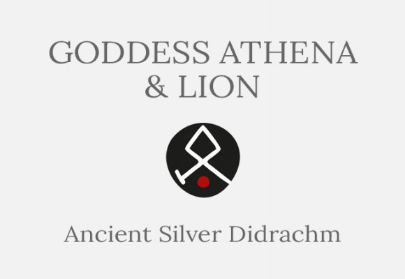 Goddess Athena and Lion Didrachm Ancient Greek Coin - Short History