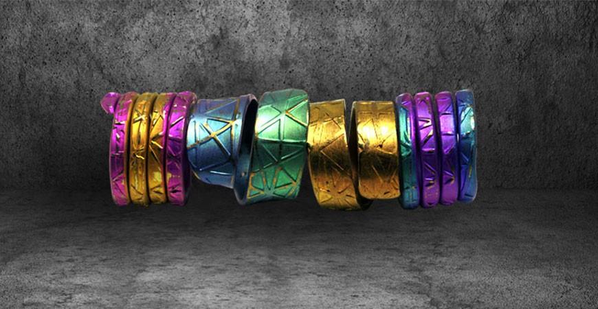 Titanium - Material & Color Information